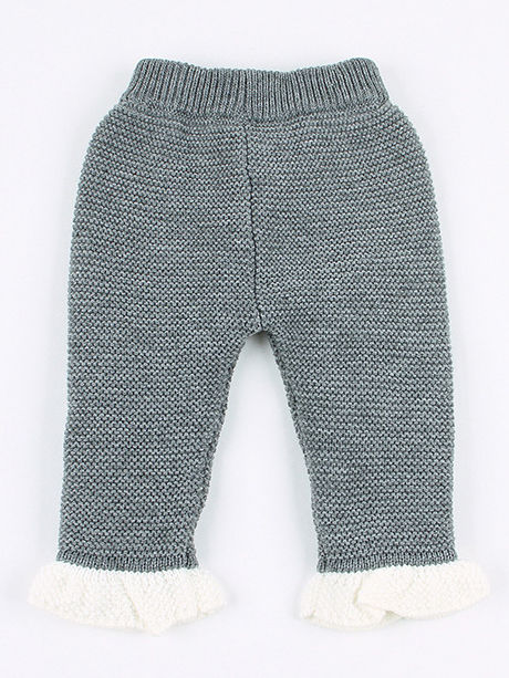 2 piece spanish style knit grey colour outfit with acrylic material