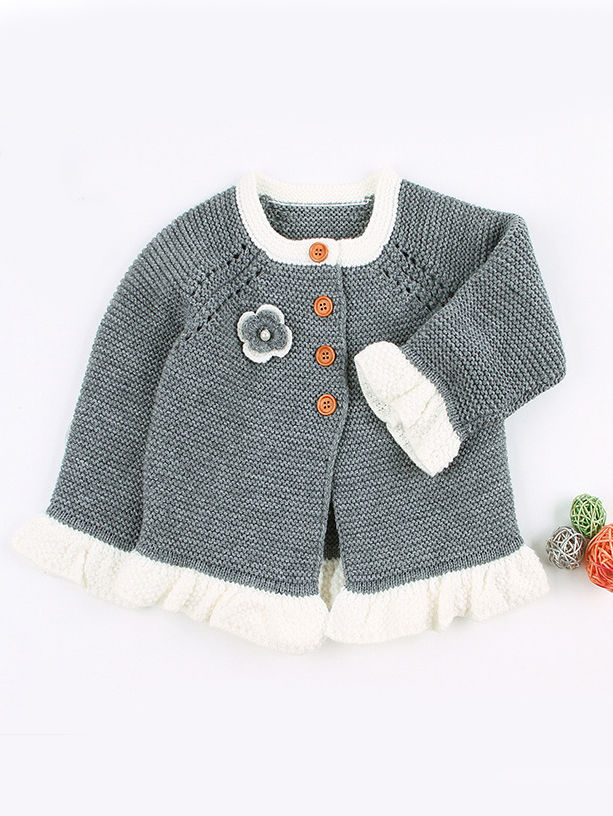 2 piece spanish style knit grey colour outfit