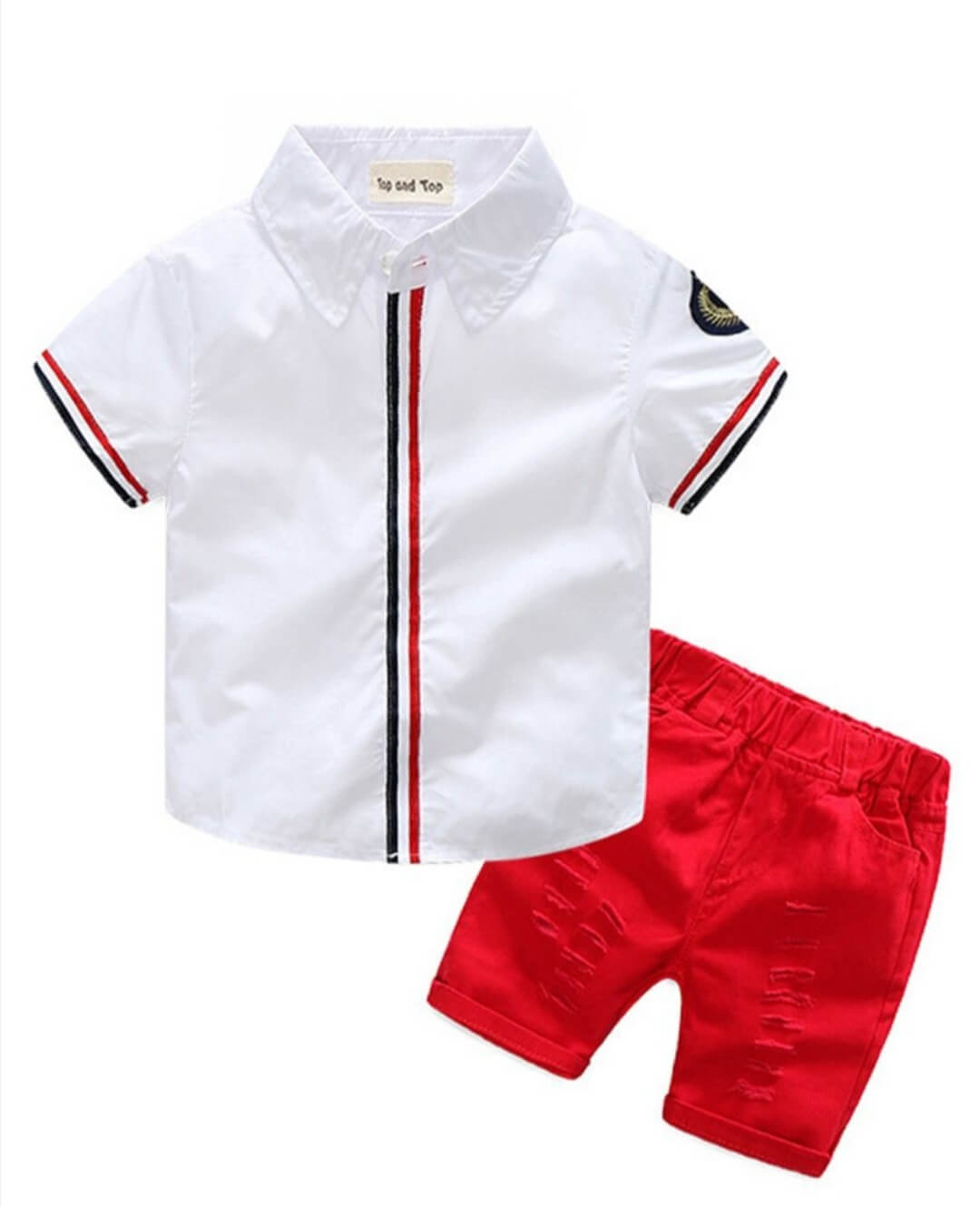 2 piece summer toddler outfit for 4 to 5 years