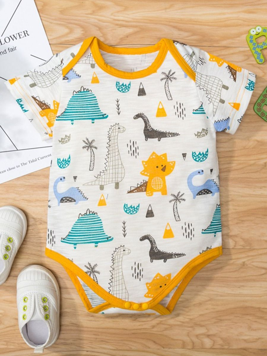 3 pack baby boy onesie for 3 to 6 months