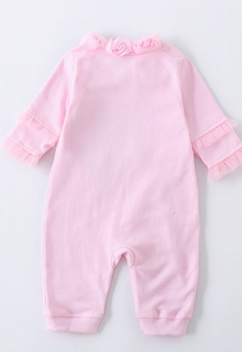 3 piece baby girl romper set for 3 to 6 months