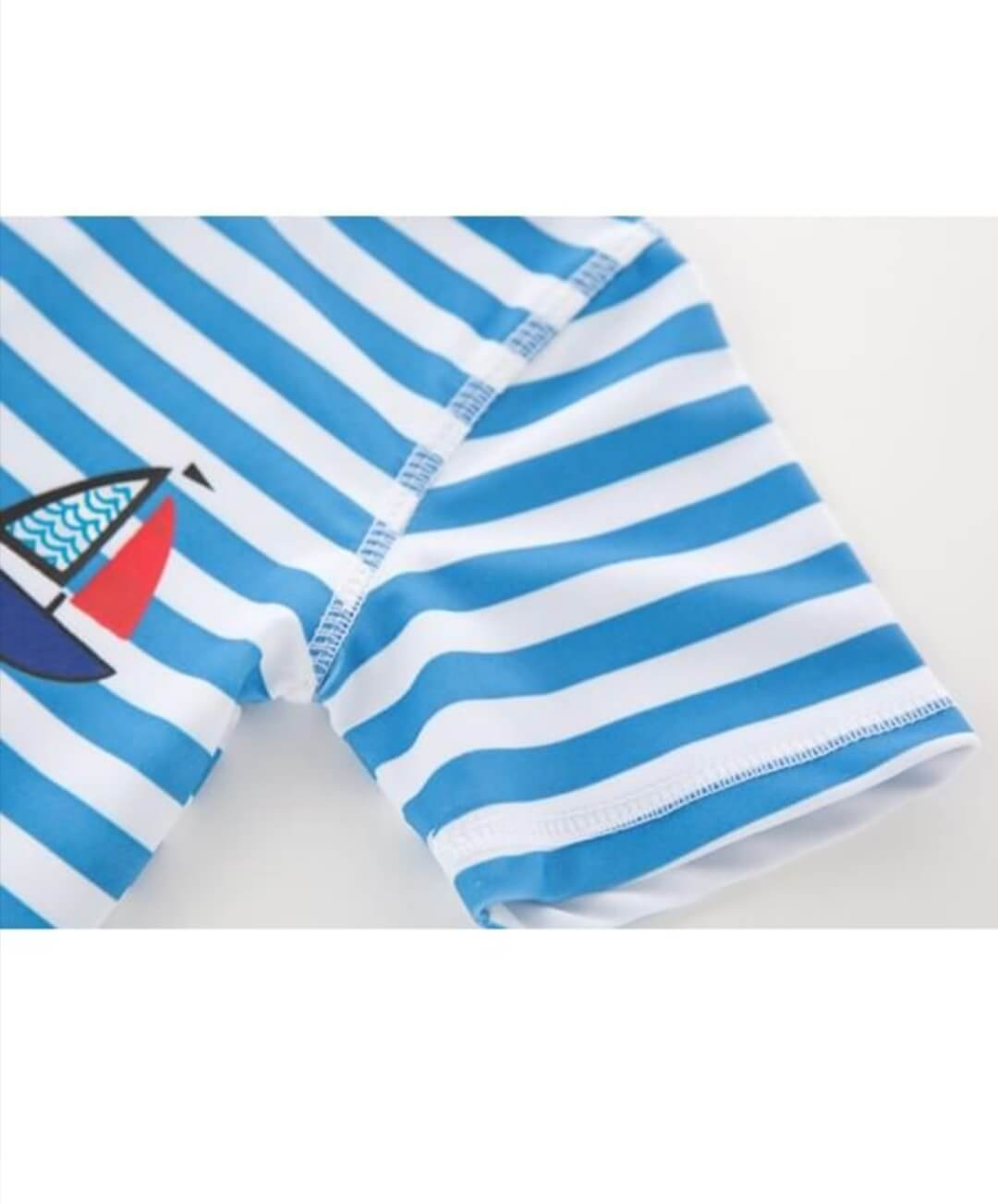 3 piece boats printed stripped swimwear set 2 to 3 years