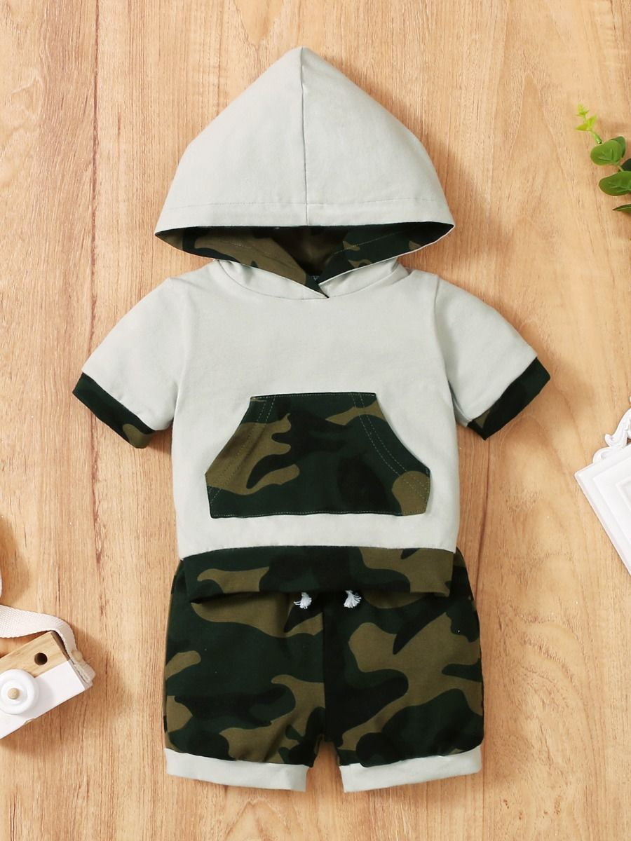baby camo set for the little soldier boy