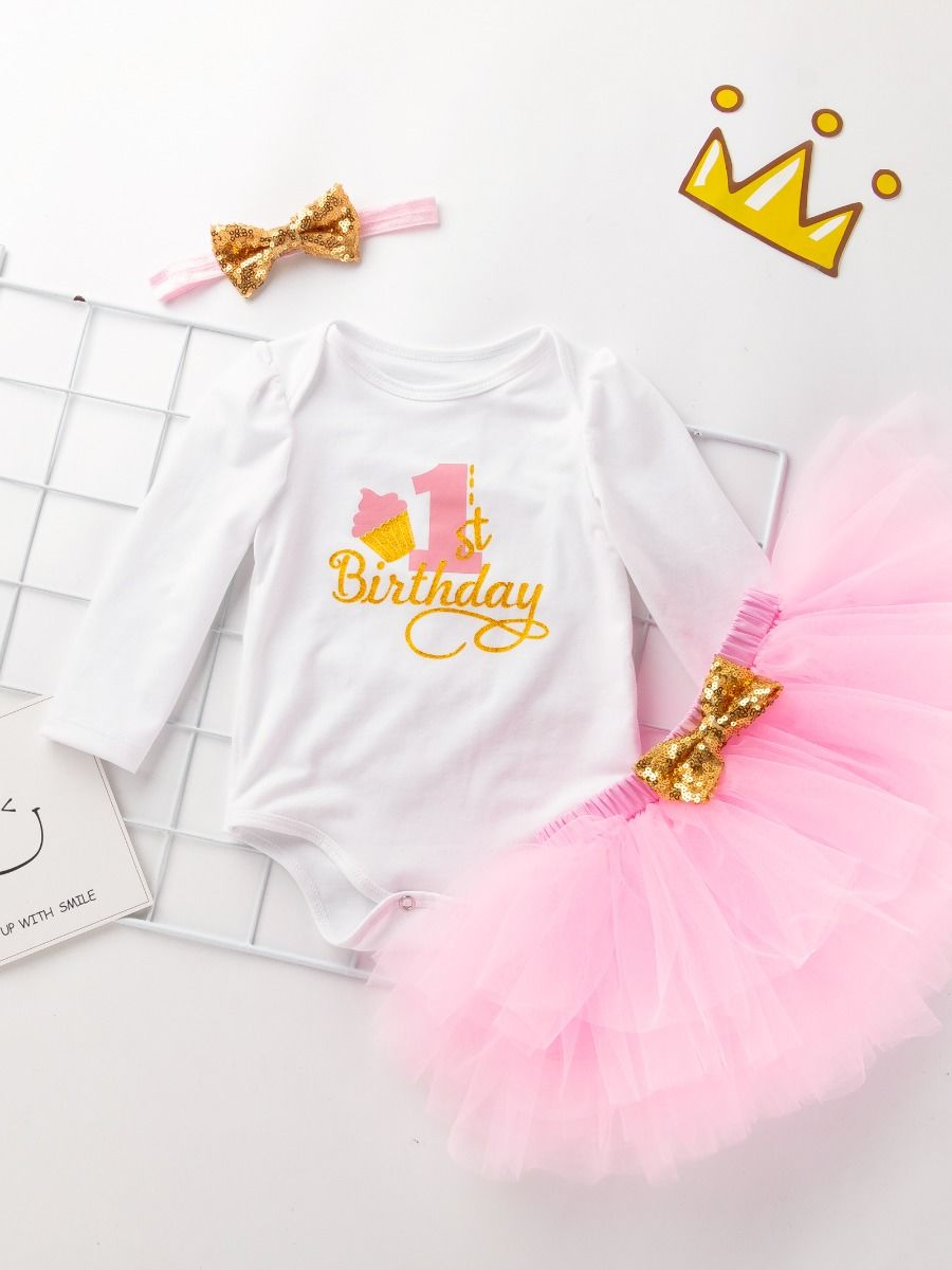 baby first birthday set for 9 to 12 months