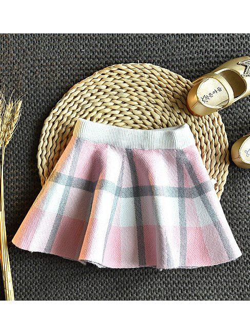 baby girl plaid winter outfit 2 piece set