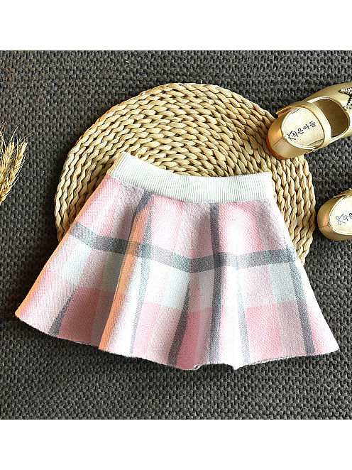 baby girl plaid winter outfit