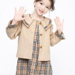 fronts girls two piece plaid outfit