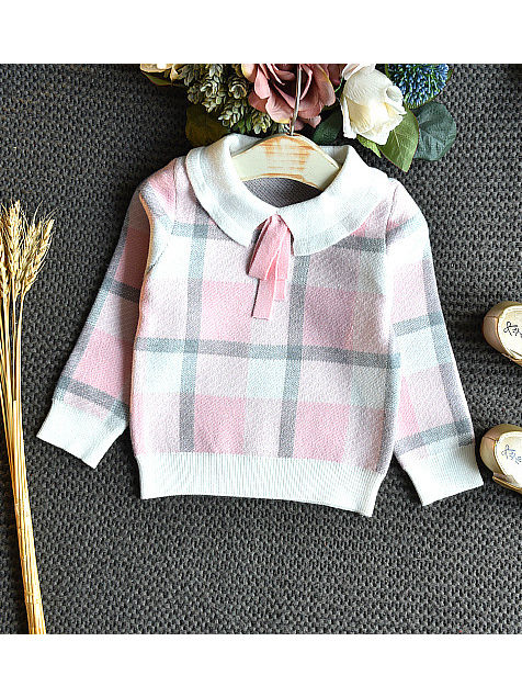 plaid winter outfit for girls