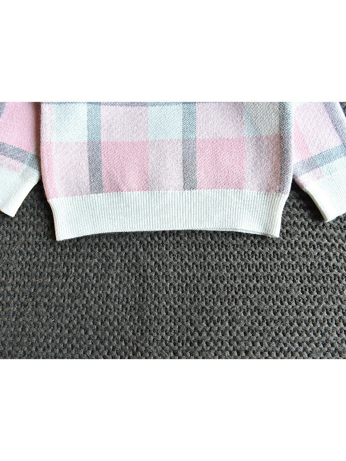 plaid winter outfit two piece set for girls