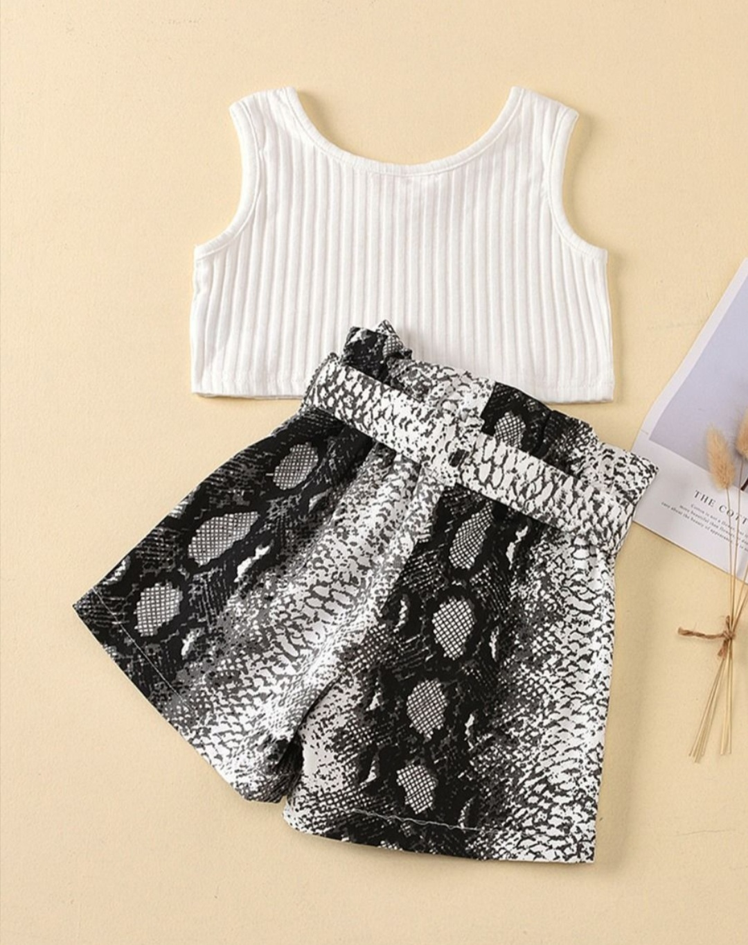 summer fashion two piece set for baby girl