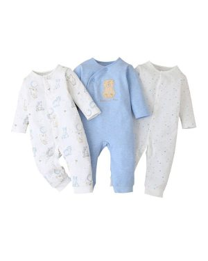 three pack romper for boys