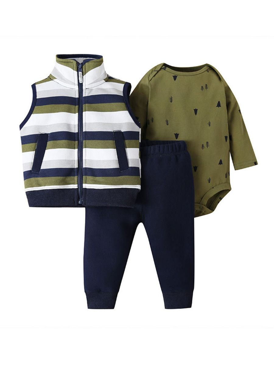three piece baby set for baby boy 18 to 24 months