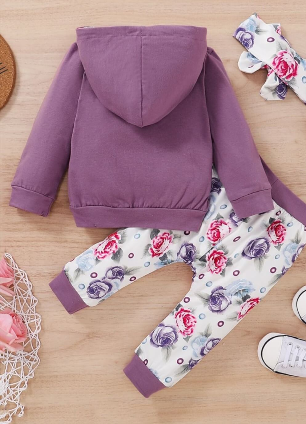 three-piece little miss sassy pants set with trousers