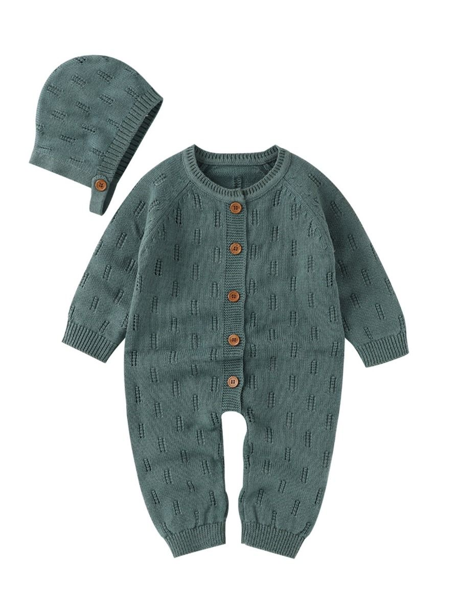 two piece knitted romper 12 to 18 months